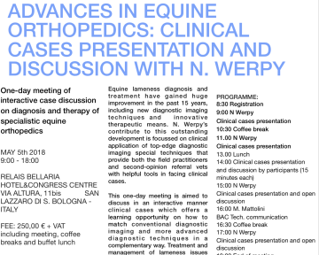 locandina-evento-advances-in-equine-orthopedics-2